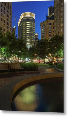 Boston Statler Park  Metal Print