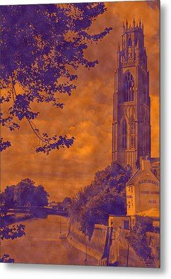 Boston Stump - Old Style Metal Print by Dave Parrott