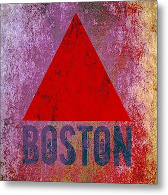 Boston Triangle Metal Print