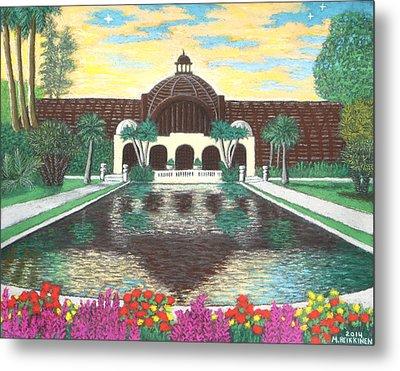 Botanical Building In Balboa Park 01 Metal Print
