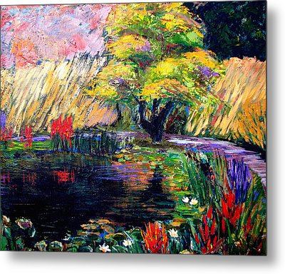 Botanical Garden In Lund Sweden Metal Print