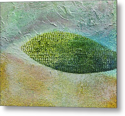 Metal Print featuring the painting Botany II by John Hansen