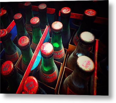 Metal Print featuring the photograph Bottle Necks by Olivier Calas