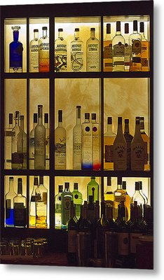 Metal Print featuring the photograph Bottle Works by Ron Dubin