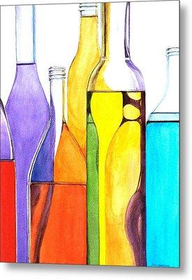 Bottled Rainbow 1 Metal Print