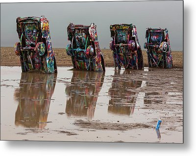 Metal Print featuring the photograph Bottoms Up by Stephen Stookey