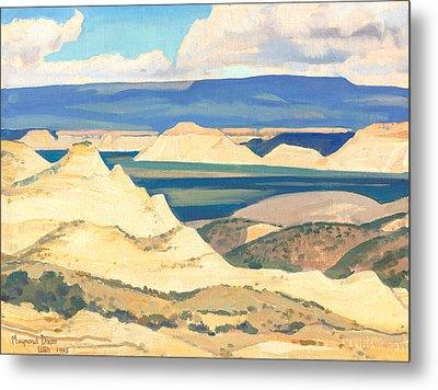 Boulder Valley Utah Metal Print by Maynard Dixon