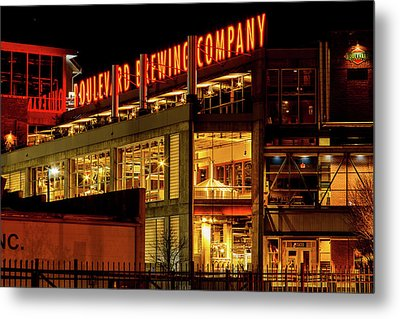 Boulevard Beer Sign Metal Print