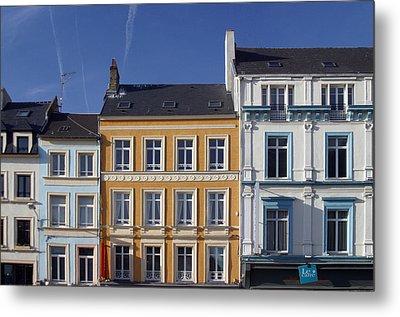 Boulogne Skies Metal Print by Jez C Self