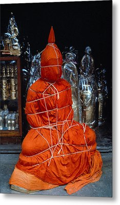 Bound Buddha Metal Print by Carl Purcell