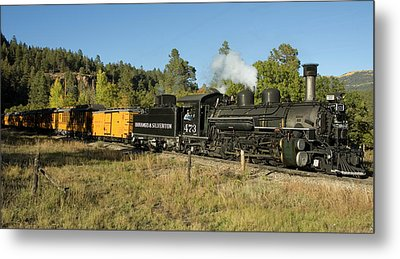 Bound For Durango Metal Print by Jerry McElroy
