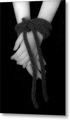 Bound Hands Metal Print by Joana Kruse