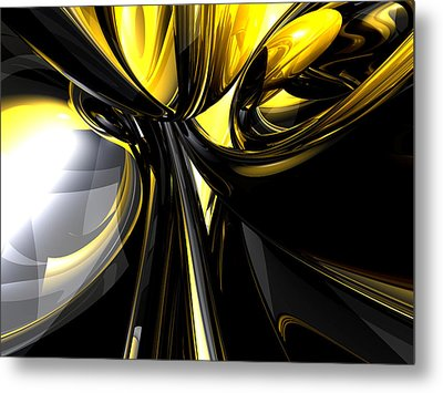 Bounded By Light Abstract Metal Print by Alexander Butler