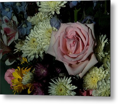 Bouquet For A Friend Metal Print