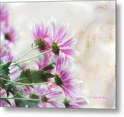 Metal Print featuring the photograph Bouquet In Pink by Joan Bertucci