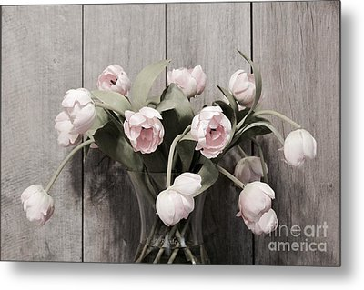 Bouquet Of Tulips Metal Print
