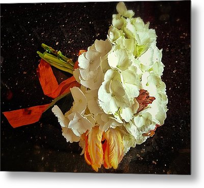 Bouquet Metal Print by Olivier Calas