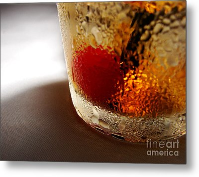Bourbon Chill Metal Print