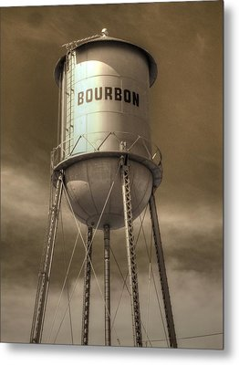 Bourbon Metal Print by Jane Linders