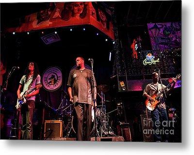 Bourbon Street Blues Band 5 Metal Print
