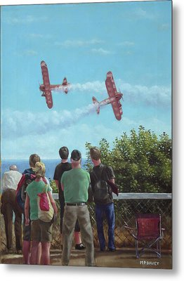 Bournemouth Air Festival Metal Print by Martin Davey