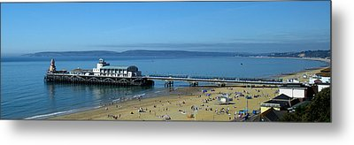 Bournemouth Pier Dorset - May 2010 Metal Print