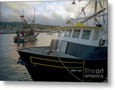 Bow And Stern Metal Print