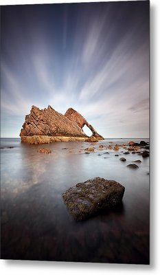 Bow Fiddle Long Exposure Metal Print by Grant Glendinning