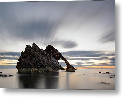 Bow Fiddle Rock At Sunrise Metal Print