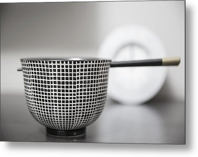 Bowl - Fortune Metal Print
