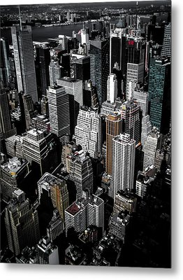 Boxes Of Manhattan Metal Print by Nicklas Gustafsson