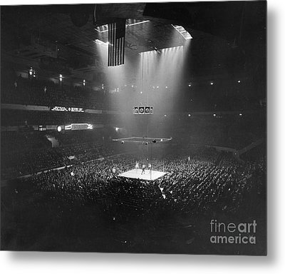 Boxing Match, 1941 Metal Print by Granger