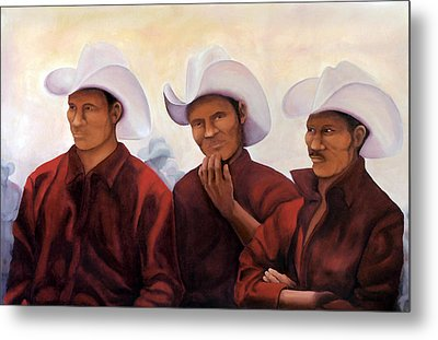 Boys In The Band Metal Print by Irene Corey