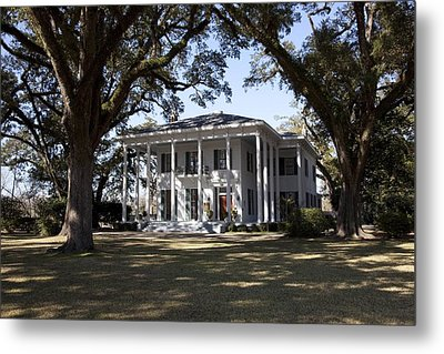 Bragg-mitchell Mansion Is An 1855 Greek Metal Print by Everett