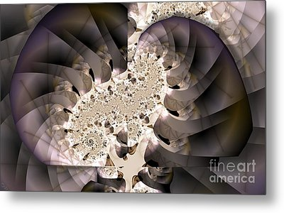 Brain Stem Metal Print by Ron Bissett
