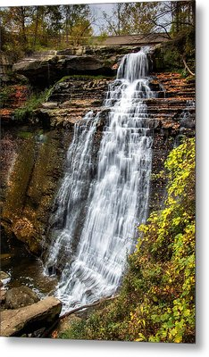 Brandywine Falls Metal Print by Tom Mc Nemar