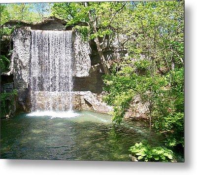 Branson Waterfall Metal Print