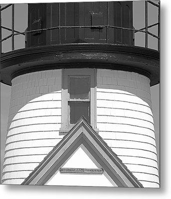 Brant Point Lighthouse Nantucket Metal Print by Charles Harden