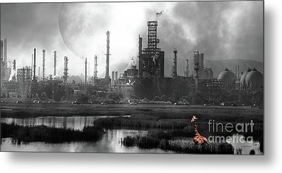 Metal Print featuring the photograph Brave New World 7d10358 V3 Long by Wingsdomain Art and Photography
