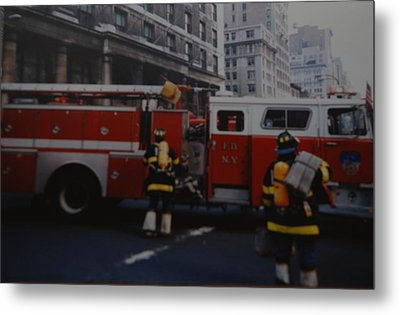 Bravest Of The Brave Metal Print by Rob Hans