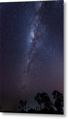 Metal Print featuring the photograph Brazil By Starlight by Alex Lapidus