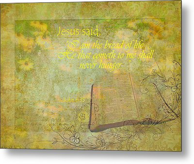 Bread Of Life Metal Print