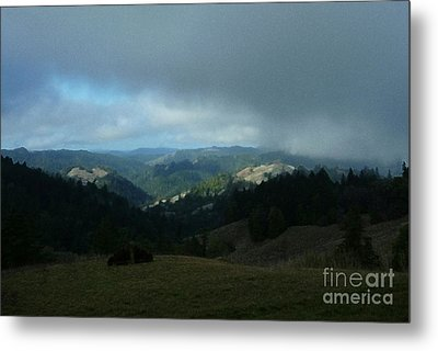 Break In The Storm Metal Print by JoAnn SkyWatcher