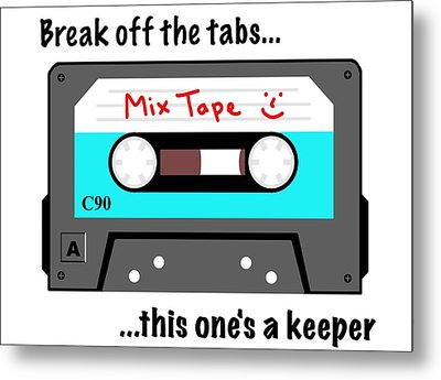 Break Off The Tabs Metal Print by David Smith