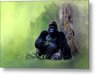 Break Time Metal Print by Cyndy Doty