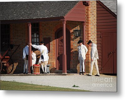 Metal Print featuring the photograph Break Time by Eric Liller