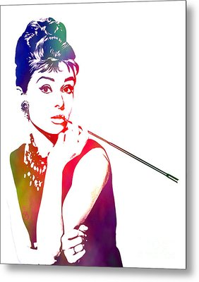 Breakfast At Tiffany's Metal Print by The DigArtisT