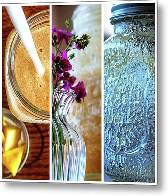 Breakfast Options Metal Print
