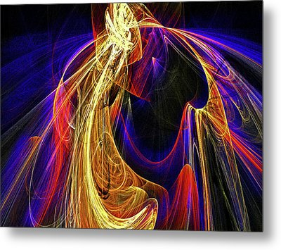 Breaking The Heart Barrier Metal Print by Michael Durst