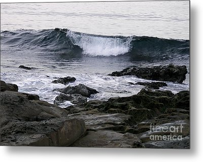 Metal Print featuring the photograph Breaking Waves by Carol  Bradley